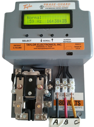 Phase Guard - Digital Phase Failure Relay unit.